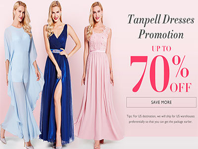 Tanpell Dresses Promotion Up To 70% OFF