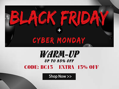 Black Friday: Warm-Up Up To 85% OFF