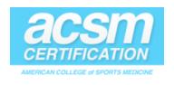 ACSM coupon code