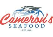 Cameron's Seafood Coupon Code