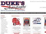 Duke's Autographs coupon code