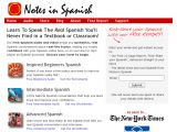 Notes in Spanish Coupon Code