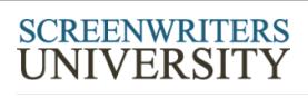 Screenwriting University Coupon Code
