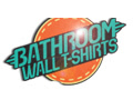 Bathroom Wall TShirts Discount Codes