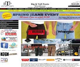 Big Tall Pants