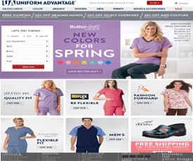 02c62023a46 50% Off Uniform Advantage Coupon Code & Promo Codes + Free Shipping June  2019 | ClothingRAC
